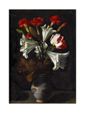 Vase of Flowers, 1635-1636 Giclee Print by Juan Fernandez el labrador