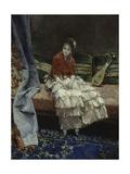 A Moment of Reflection, 1876 Giclee Print by Luis Jimenez Aranda