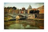 Ponte Vittorio Emanuelle Print by Danny Head