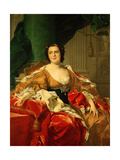 Louise Elisabeth of France, 1745 Giclee Print by Louis-Michel van Loo