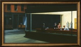 Nighthawks Framed Giclee Print by Edward Hopper