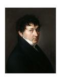 Self-Portrait, 1810-1813 Giclée-Druck von Zacarias Gonzalez Velazquez
