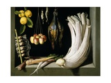 Still Life with Game, Vegetables and Fruit, 1602 Giclee Print by Juan Sanchez Cotan