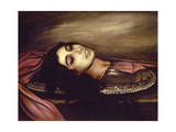 Head of a Saint Woman, 1925 Giclee Print by Julio Romero de Torres