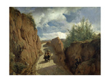 The Path to Granollers, 1866-1872 Giclee Print by Ramon Marti Alsina
