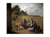 A Veteran Telling His Adventures, Ca. 1843 Giclee Print by Leonardo Alenza
