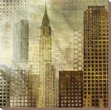 Chrysler Building Stretched Canvas Print by Katrina Craven