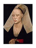 Portrait of a Woman, C. 1460 Giclee Print by Van der Weyden Rogier