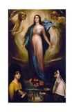 Virgin of the Lanterns, 1928 Giclee Print by Julio Romero de Torres