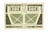Plan du Casino Colonna, A Marino Poster von  Bonnard