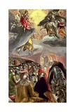 The Adoration of the Name of Jesus Giclee Print by  El Greco