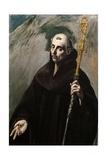 Saint Benedict, 1577-1579 Giclee Print by  El Greco