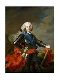 Philip V, King of Spain, Ca. 1739 Giclee Print by Louis-Michel van Loo