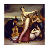 An Allegory of Happiness, 1917 Giclee Print by Julio Romero de Torres