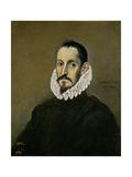 A Nobleman, Ca. 1586 Giclee Print by  El Greco