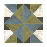 Patchwork Tile IV Poster by Vanna Lam