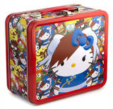 Sanrio Hello Kitty - Streetfighter Chun Li Lunchbox Lunch Box