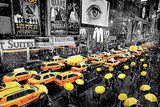 New York - Umbrella Plakát