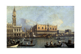 Ducal Palace, Venice, 1755 Giclee Print by  Canaletto