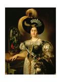 Infanta Maria Francisca of Portugal, 1820 Giclee Print by Vicente López Portaña