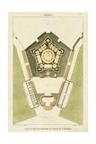 Plan du Rez de Chaussee du Palais Kunstdrucke von  Bonnard