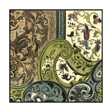 Tapestry Elegance III Prints by  Vision Studio