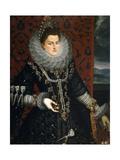 Infanta Isabella Clara Eugenia, 1598-1599 Giclee Print by Juan Pantoja De La Cruz