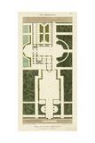 Plan de la Villa Bolognetti Poster by  Bonnard