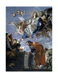 Assumption, Middle 17th Century Giclee Print by Juan Martin Cabezalero