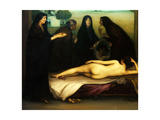 The Sin, 1913 Giclee Print by Julio Romero de Torres