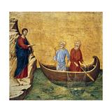 Vocacion De Los Apostoles Pedro Y Andres Giclee Print by Duccio Di buoninsegna