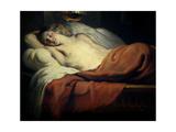 Love Asleep, Ca. 1630 Giclee Print by Jan-Erasmus Quellinus