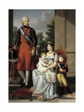 Family of the King of Etruria, 1804 Giclee Print by Francois-xavier Fabre