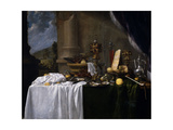 Table with Desserts Giclee Print by Andries Benedetti