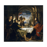 Emaus Dinner, 1635-1640 Giclee Print by Peter Paul Rubens