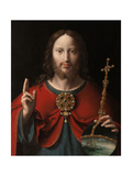 The Saviour, ca. 1520 Giclee Print by Joos Van Cleeve