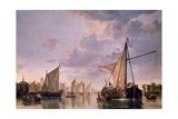 The Maas at Dordrecht, 1680 Giclée-Druck von Aelbert Cuyp