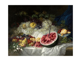 Still Life, 1849 Giclee Print by Eugenio Lucas Velazquez