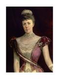 Maria Christina of Austria Giclee Print by Luis Alvarez catala