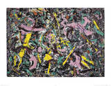 Unformed Figure, 1953  Posters van Jackson Pollock
