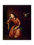 Child Madonna Asleep, 1664 Giclee Print by Francisco de Zurbaran