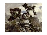 En Las Cumbres (Picos De Europa), Ca. 1874 Giclee Print by Carlos de Haes