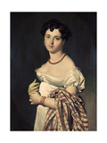 Madame Henri-Philippe-Joseph Panckouke Giclee Print by Jean-Auguste-Dominique Ingres