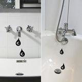 Water Drop Reminders Kalkomania ścienna