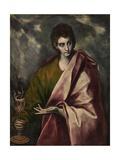 Saint John the Evangelist, Ca. 1605 Giclee Print by  El Greco