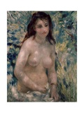 Study. Torso, Effect of Sunlight, Ca. 1875-1876 Giclee Print by Pierre-Auguste Renoir