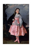 The Countess of Santovenia, Conchita Serrano Dominguez, 1871 Giclee Print by Eduardo Rosales