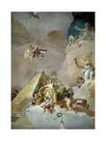 Throne Room: the Glory of Spain, Detail, 1762-1766 Giclee Print by Giovanni Battista Tiepolo