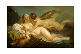 Diana and Callisto, 1745-1749 Giclee Print by Jean Baptiste Marie Pierre