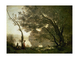 Recollections of Mortefontaine, 1864 Giclee Print by Jean Baptiste Camille Corot